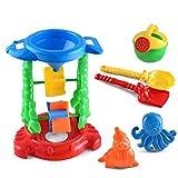IUwnHceE Mesh Bag Beach Sandbeach Set 6pcs Newin Stella Sandpits Sandbox Giochi per Bambini Bambino