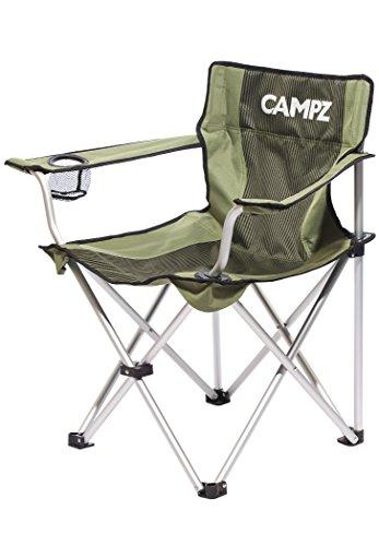 CAMPZ Aluminium Faltstuhl Olive 2020 Campingstuhl