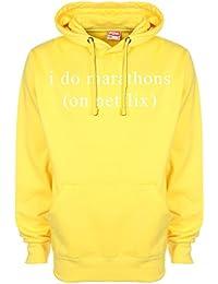 I Do Marathons (en Netflix) sudadera con capucha