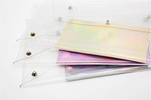 Flada , Pochette pour femme transparent Style 2 moyen style 3