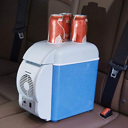 Maxxlite Mini Portable 12v 7 L Car Refrigerator for Picnic Travel Purpose Cooling & Warmer