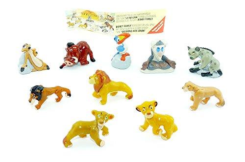 Le Roi Lion figurine Jeu de Figurines de 10Belle de Nestle