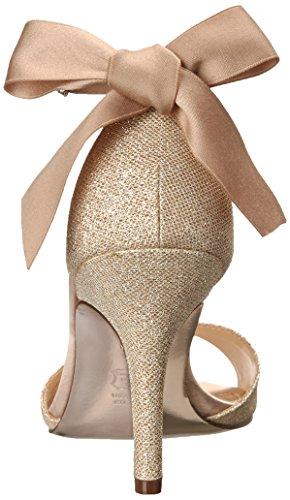 Nina Womens Vinnie GM Dress Pump Champagne/Royal Gold