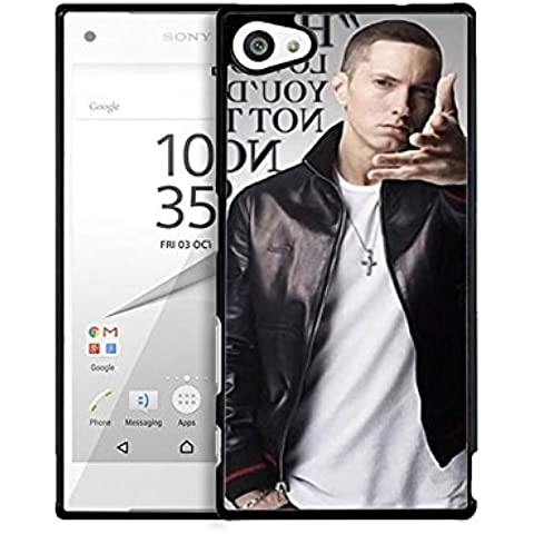 Cute Present for Girl Sony Xperia Z5 Compact Cell Phone Eminem Xperia Z5 Compact Étui pour téléphone Singer Eminem Sony Z5 Compact Custodia Case Eminem