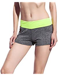 EOZY Short Sport Femme Short Course Fitness Yoga Running Stretch Casual