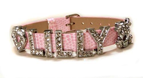 Motiv Armband mit Prägung für Frauen und Mädchen ab 12J - 1,0m Bandbreite - Rosa
