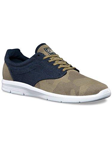 Vans Unisex-Erwachsene Iso 1.5 Sneakers (camo textile) olive nigh