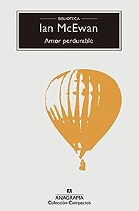 Amor perdurable par Ian McEwan