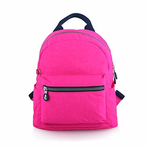 nuova studentessa borsa, signore del tempo libero borsa borsa da viaggio,funghi blu rosso