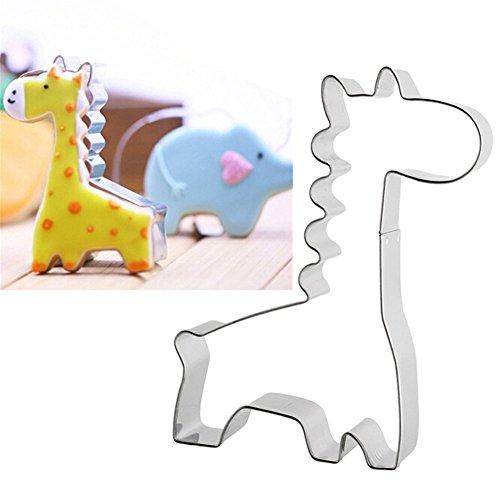 Kinder Ausstechformen Weihnachten Edelstahl Keksausstecher,Giraffe