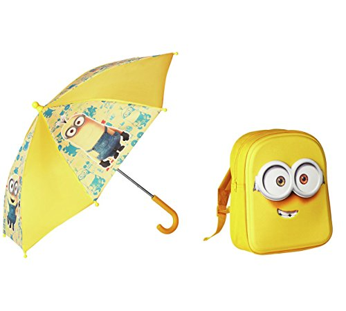 Secuaces mochila paraguas - Amarillo.