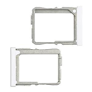 BisLinks® Marke Neu SIM Karte Tablett Halter Ersatz Teil Für LG G2 D802 D800 Weiß