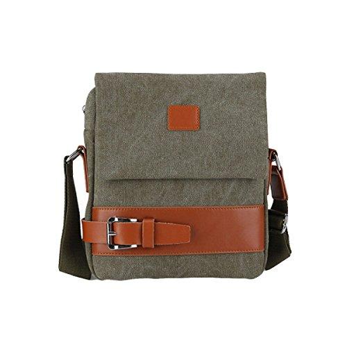 Umhängetasche Der Männer Taschen Weiche Beutel-beiläufige Art- Und Weisekleiner Rucksack Green