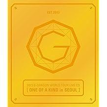 YG Entertainment G-Dragon Bigbang - 2013 World Tour Live [One Of A Kind