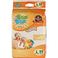 BON BON Special Delivery Hypoallergenic Baby Diapers, (Large 52)