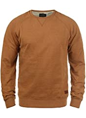 Idea Regalo - BLEND Alex - Felpa da Uomo, taglia:L, colore:Rust Brown (71512)