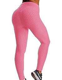 FITTOO Mallas Pantalones Deportivos Leggings Mujer Yoga de Alta Cintura Elásticos Yoga Running Fitness
