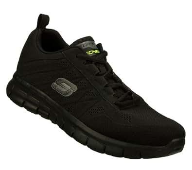 Skechers Mens Synergy-Power Switch Running Shoe Black 8. 5 M