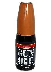 Gun Oil Silicone Based Personal Lubricant (Slick Silicone Formula) : Size 4 Oz /120 Ml
