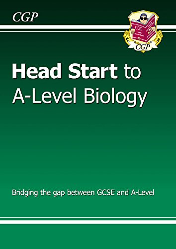 New Head Start to A-level Biology (CGP A-Level Biology) by [CGP Books]