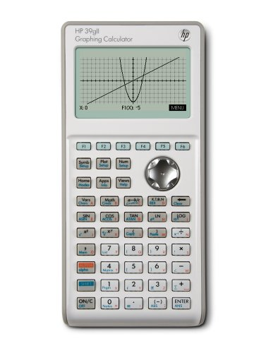 HP 39gII Calculatrice Graphique Blanc