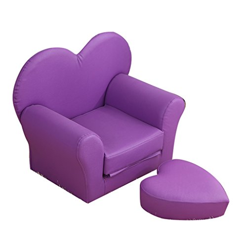ALUK- small stool Divanetto per Bambini, Sedile Moderno Semplice, Sgabello da Lettura per Bambini, Poltroncina Pieghevole Leggera e Confortevole