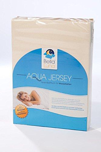 Bella Luna Molton Stretch Matratzenschonbezug - atmungsaktiver Matratzenschoner - Matratzenauflage für Matratzen aller Art, Wasserbett und Boxspringbett. Schützt Ihre Matratze bzw. Wasserbettauflage optimal vor Nässe, Staub und Verunreinigung und verlängert somit die Lebensdauer Ihres Schlafsystems. Ideal auch für Allergiker und bei starkem Schwitzen und Inkontinenz zur Erhöhung der Hygiene. Grösse 140-160 x 200-220 cm. Andere Grössen lieferbar.