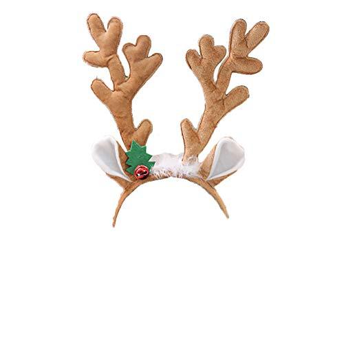 Ouken 1pc astas Reno Diadema Navidad Diadema Tocado