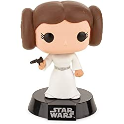Funko - POP! Bobble Colección Star Wars - Figura Princesa Leia (2319)