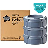 Tommee Tippee Twist and Click Advanced Nappy Disposal Sangenic Tec Refills, Pack of 3 (Compatible with Sangenic Tec, Twist and Click Bins)