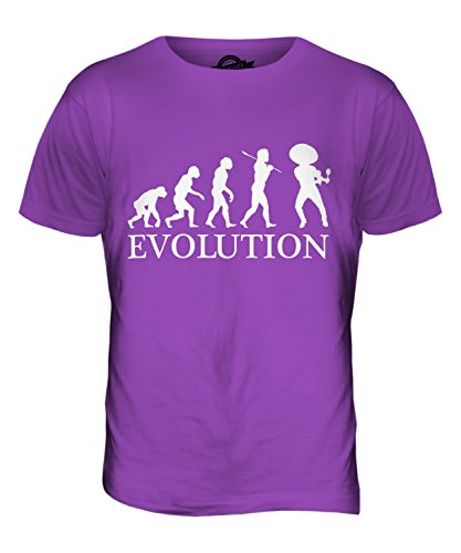 CandyMix Mexikanische Tänzer Evolution Des Menschen Herren T Shirt Violett