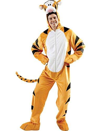 Disney Tigger Kostüm für Erwachsene, Größe XL ()