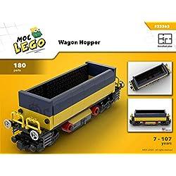 Wagon Hopper (Instruction Only): MOC LEGO (English Edition)