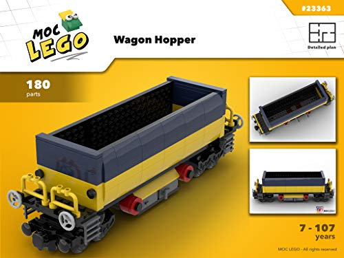Wagon Hopper (Instruction Only): MOC LEGO (English Edition)