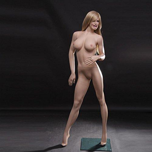 Weibliche Schaufensterpuppe mit größen Brüsten