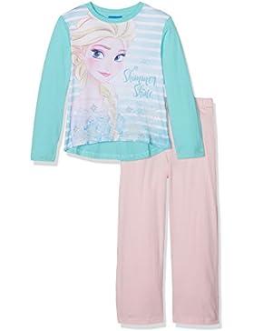Leomil Fashion Mädchen Zweiteiliger Schlafanzug Long Pyjama