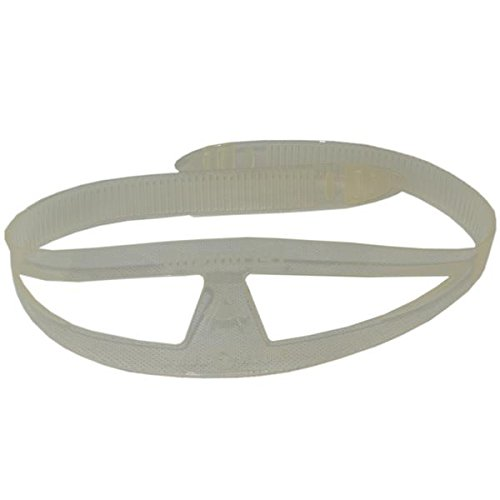 Aqualung - Maskenband Silicon transparent breit (Maskenband)