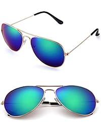 8e548bf556f YSFU occhiali da sole Occhiali da Sole Donna Aviator Occhiali da Sole in  Metallo Occhiali da