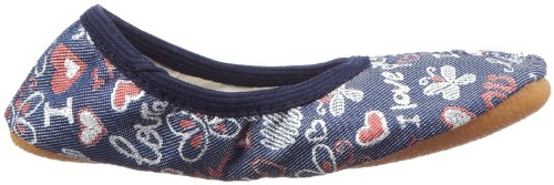 Beck Darling 240, Chaussures de gymnastique fille Bleu-TR-SW331