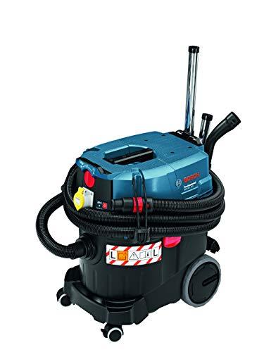 Bosch Professional GAS 35 L AFC, 1.380 W Max., 35 l Behältervolumen, Fugendüse 250 mm, Flachfaltenfilter PES, Krümmer, Bodendüsen-Set, 3x Saugrohr verchromt