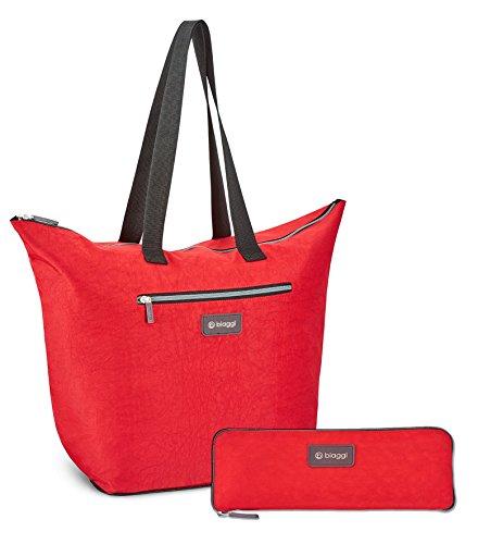Biaggi Gepäck ZipSak M-Shopper Tote, 40,6cm, rot (rot) - 631116
