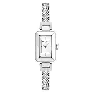 Thomas Sabo Damen-Armbanduhr Mini Vintage silber Analog Quarz WA0330-201-202-23x15,5 mm