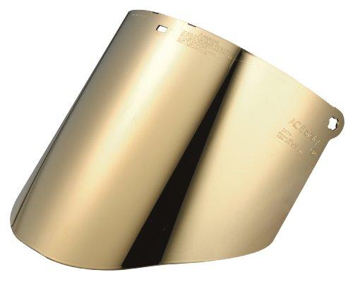 Insgesamt 3m Performance goldbeschichtete Polycarbonat dunkelgrün Faceshield Fenster wcp96cg, Gesicht Schutz 82604–00000