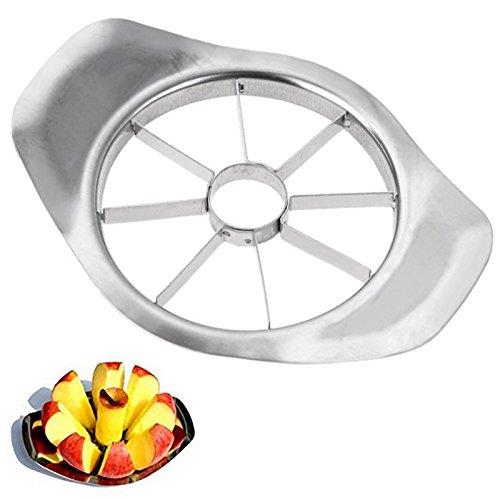 Minkoll Birne Obst Slicer, Edelstahl Peeler Cutter Corer Wedger (zufällige Farbe) Wedger Corer