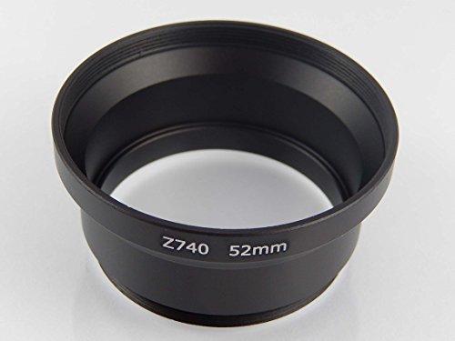 vhbw-filteradapter-schwarz-fur-auf-52mm-fur-kamera-kodak-easyshare-z650-z710-zd710-z740