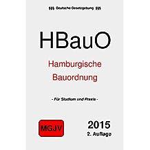 Hamburgische Bauordnung: HBauO