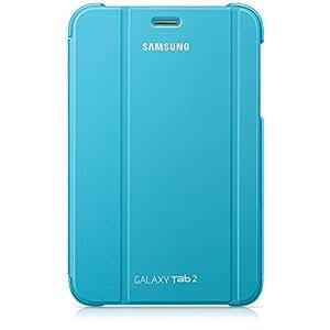 Samsung Original Diarytasche (Flipcover) im Buchdesign EFC-1G5SLECSTD (kompatibel mit Galaxy Tab 2 7.0) in capri blue