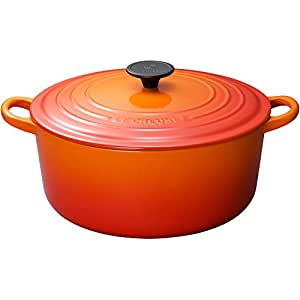Le Creuset 25001220902461 Bräter Tradition rund 22 cm ofenrot