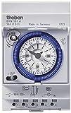 Theben 1610011 SYN 161d - analoge Zeitschaltuhr mit Synchronmotor und Tagesprogramm, Zeitschalter