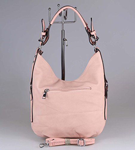OBC Only-Beautiful-Couture, Borsa tote donna Nero Schwarz V1 ca.: 33x30x12 cm (BxHxT) ROSA 33x30x12 cm